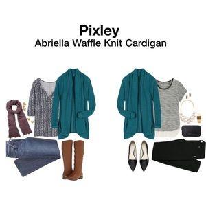 Pixley Abriella Waffle Knit Cardigan